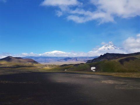 Фотоальбом: Самые высокие вулканы Камчатки